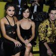 Selena Gomez au défilé Versace printemps-été 2014 à Milan, le 20 septembre 2013.