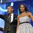 Barack et Michelle Obama, duo amoureux lors du dîner de la fondation du Congressional Black Caucus, le 21 septembre 2013 à Washington