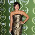 """Jenna Ushkowitz à la soirée pré-Emmy """"Variety And Women In Film"""" à Beverly Hills, le 20 septembre 2013."""