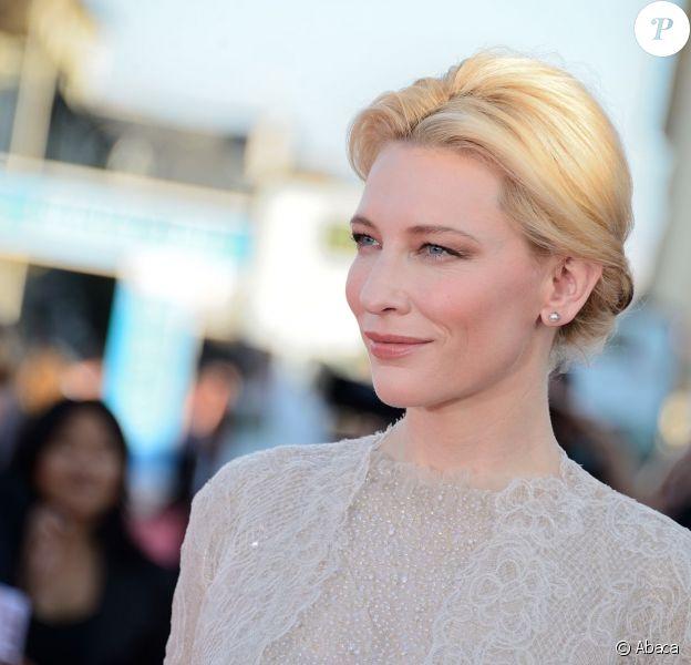 Cate Blanchett lors du Festival de Deauville le 30 août 2013