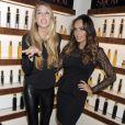 Tamara Ecclestone et Whitney Portlors de la soirée de lancement de la marque SHOW à New York le 23 septembre 2013.