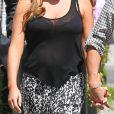 Exclusif - Tamara Ecclestone affichait des formes rebondies après une sortie chez Coffee Bean & Tea Leaf à Beverly Hills le 17 septembre 2013