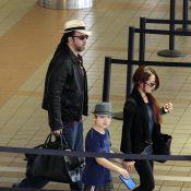 Nicolas Cage et son look dingue : Des extensions pour voyager en famille