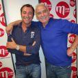 Michel Fugain, invité de Bernard Montiel sur MFM radio, le 28 septembre 2013.