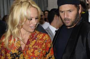 Fashion Week : Pamela Anderson, sexy avec son ex-mari pour Vivienne Westwood