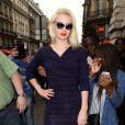 Iggy Azalea lors du défilé Vivienne Westwood printemps-été 2014 au Centorial. Paris, le 28 septembre 2013.