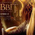 Le Roi Thranduil dans une bannière du film Le Hobbit : La Désolation de Smaug.