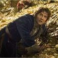 Martin Freeman dans un extrait du film Le Hobbit : La Désolation de Smaug.