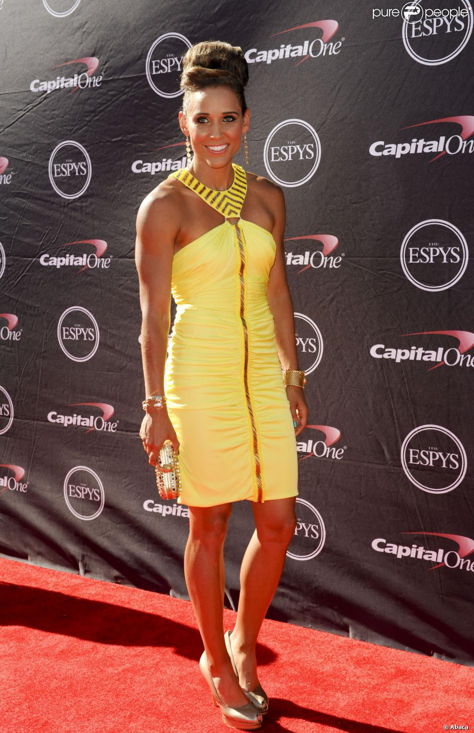 Lolo Jones lors des 2013 ESPY Awards au Nokia Theatre L.A. Live de Los Angeles le 17 juillet 2013
