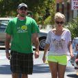 Britney Spears et son petit-ami David Lucado à Encino, le 25 août 2013.