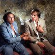 Pierre Richard et Gérard Depardieu dans le film La Chèvre