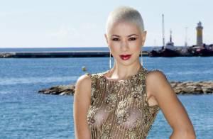 Dièse (The Voice 2) : Seins nus sous une robe transparente, elle enflamme Cannes
