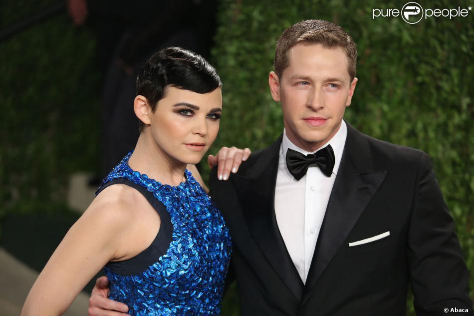 Ginnifer Goodwin et Josh Dallas lors de la soirée Vanity Fair post-Oscars à Los Angeles le 24 février 2013
