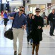 Ginnifer Goodwin et son amoureux Josh Dallas à Londres le 22 avril 2013