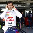 Mark Webber dans le paddock du Grand Prix du Japon à Suzuka le 13 octobre 2013