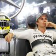 Nico Rosberg dans le paddock du Grand Prix du Japon à Suzuka le 13 octobre 2013