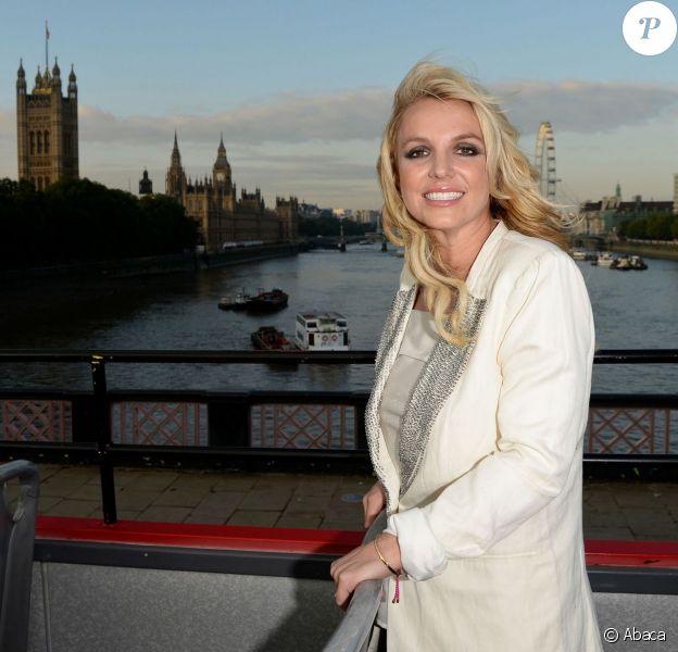 Britney Spears à Londres, le 15 octobre 2013.