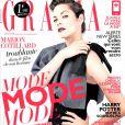 Marion Cotillard en couverture de Grazia, édition du 18 octobre 2013