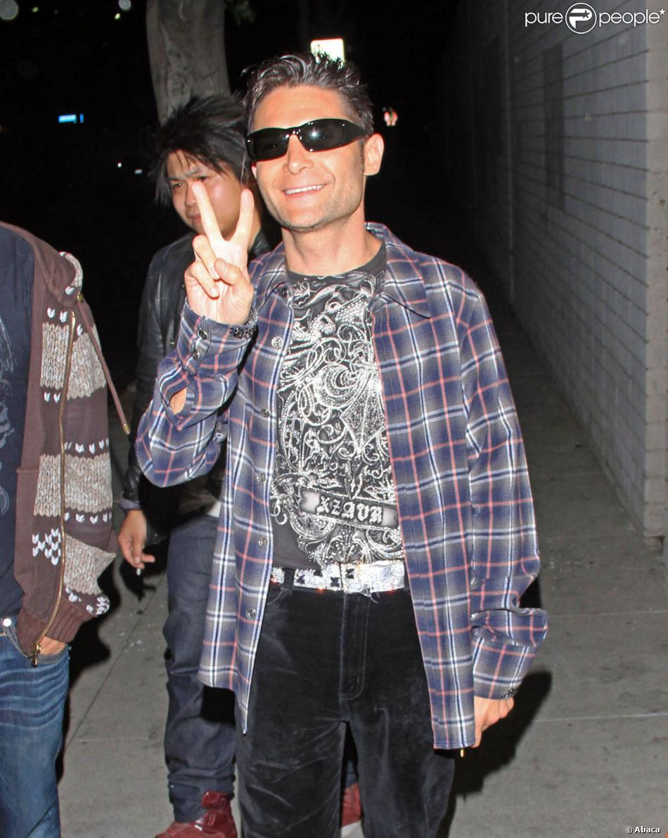 Corey Feldman à la sortie du night club True de Hollywood, le 23 avril 2012