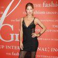 Doutzen Kroes assiste au gala Night Of Stars organisé par le Fashion Group International, au Cipriani 55 Wall Street. New York, le 22 octobre 2013.