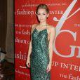 Miley Cyrus assiste au gala Night Of Stars organisé par le Fashion Group International, au Cipriani 55 Wall Street. New York, le 22 octobre 2013.