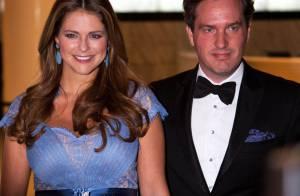 Princesse Madeleine, enceinte : Plantureuse au bras de Chris au Green Summit