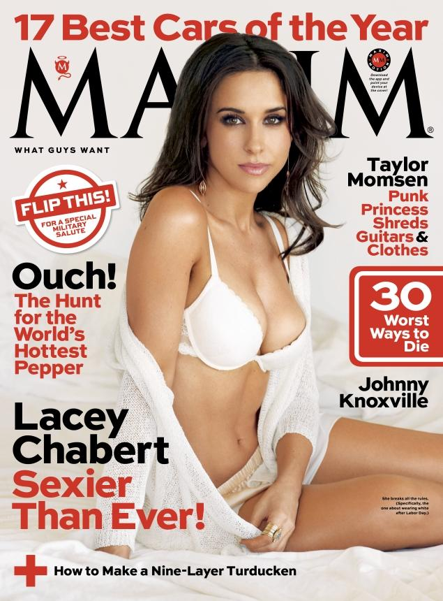 Lacey Chabert - Magazine cover