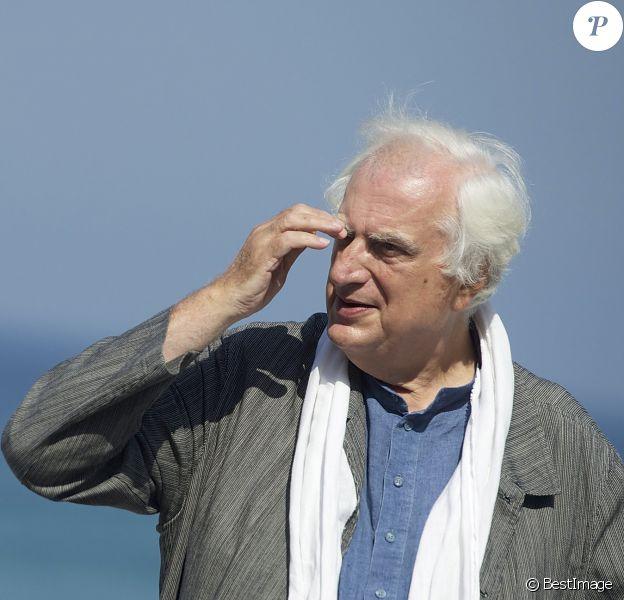 Bertrand Tavernier à San Sebastian le 24 septembre 2013.