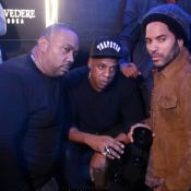 Jay Z : Soirée parisienne avec Lenny Kravitz et Timbaland