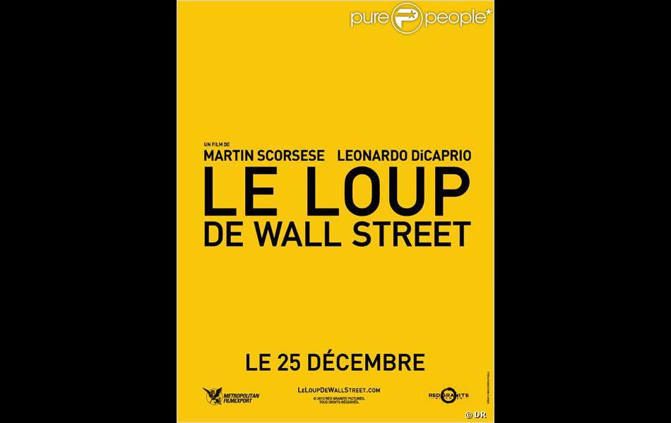 Affiche du film le loup de wall street - Le loup de wall street film ...