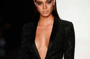 Hinarani de Longeaux, avant Miss Univers : Décolleté sexy pour la Fashion Week