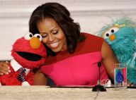 Michelle Obama : Complice avec les Muppets Elmo et Rosita, ses nouvelles recrues
