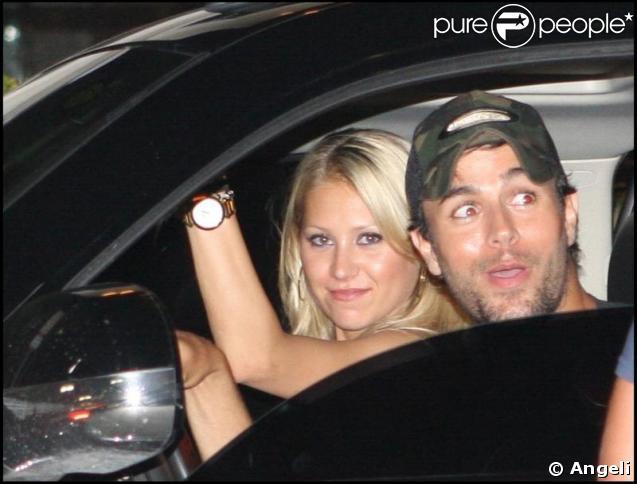 Enrique Iglesias et sa douce Anna