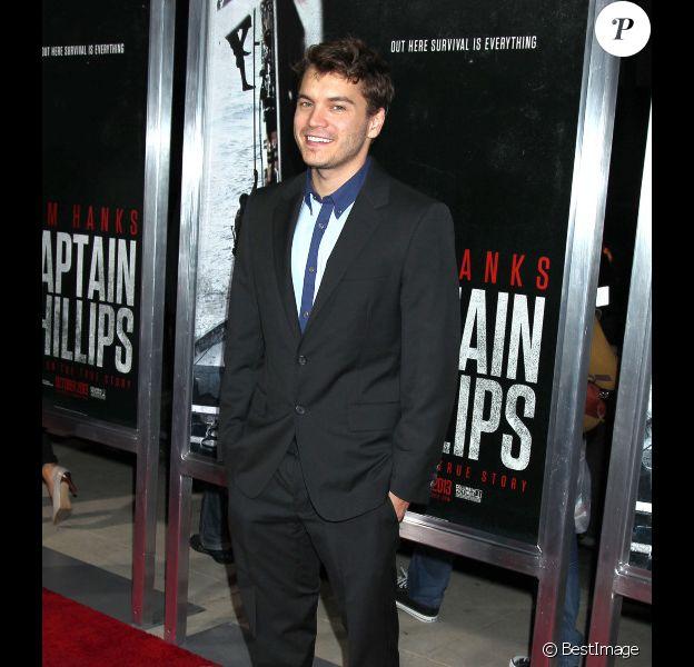 L'acteur Emile Hirsch, à Beverly Hills, le 30 septembre 2013
