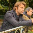 Nicolas et José en couple dans Les Mystères de l'amour - Coups de folies (diffusé le dimanche 3 novembre 2013 sur TMC)