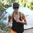Eva Longoria fait son jogging à Los Angeles, le 5 novembre 2013.