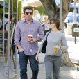 Ben Affleck et Jennifer Garner à Los Angeles, le 7 novembre 2013.