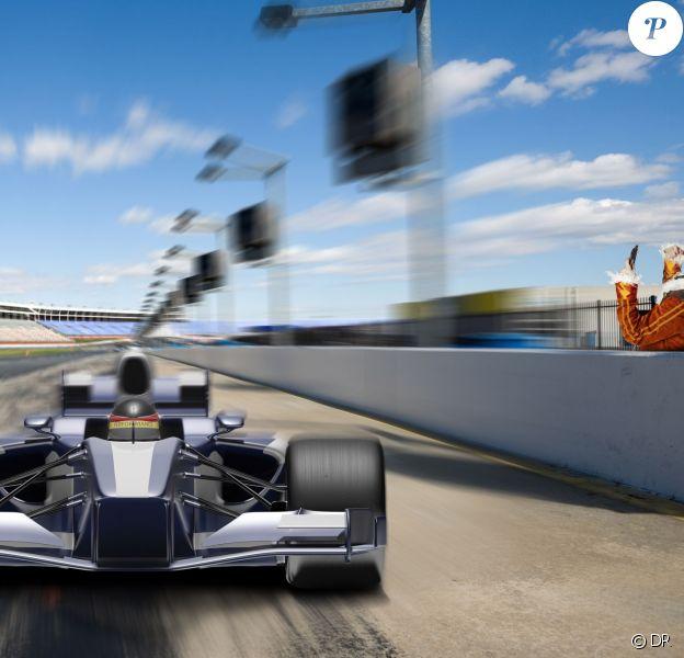 M4GIC encourage Sebastian Vettel, il est déjà arrivé depuis 1h.