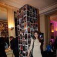 Frédérique Bel, à l'Automobile Club de France, à Paris, à l'occasion de la soirée de vente aux enchères au profit de l'association AMFE, le mercredi 13 novembre 2013.