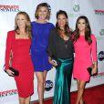 Felicity Huffman, Brenda Strong, Vanessa Williams et Eva Longoria lors d'une soirée pour la fin de la série Desperate Housewives, à Los Angeles, le 29 avril 2012.