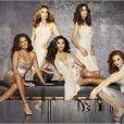 Eva Longoria, Felicity Huffman, Marcia Cross, Teri Hatcher et Vanessa Williams dans Desperate Housewives.