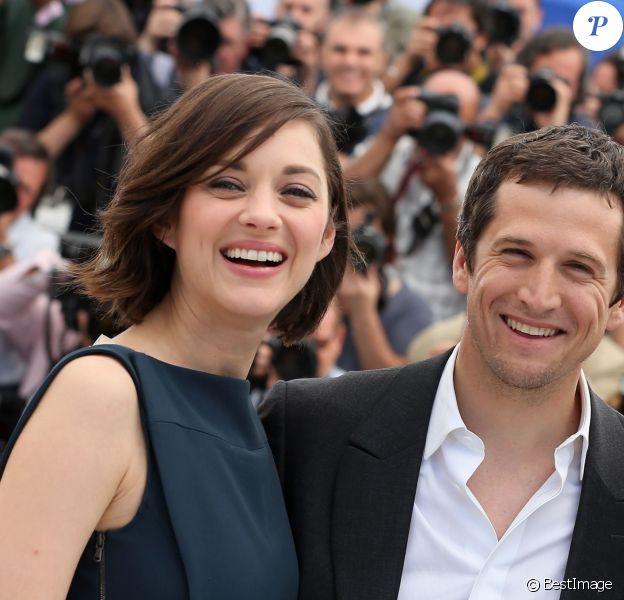Marion Cotillard et Guillaume Canet à Cannes le 20 mai 2013.