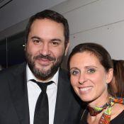 Bruce Toussaint et Valérie Fignon : Réunis et souriants pour de jeunes diplômés