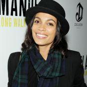 Rosario Dawson : Chic et urbaine pour soutenir Naomie Harris et Idris Elba