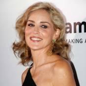 Sharon Stone : Renversante pour le gala de l'amfAR avec Hilary Swank, glamour