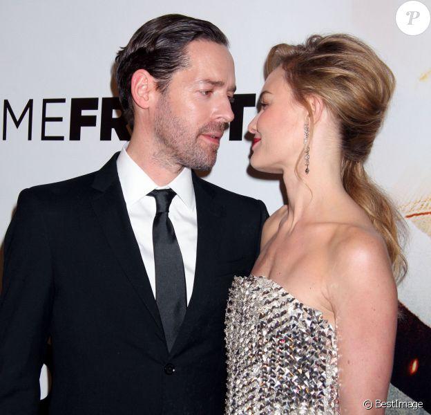 Kate Bosworth et son mari Michael Polish à la première du film Homefront à Las Vegas, le 20 novembre 2013.