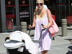 PHOTOS : Tori Spelling sort enfin bébé !!!