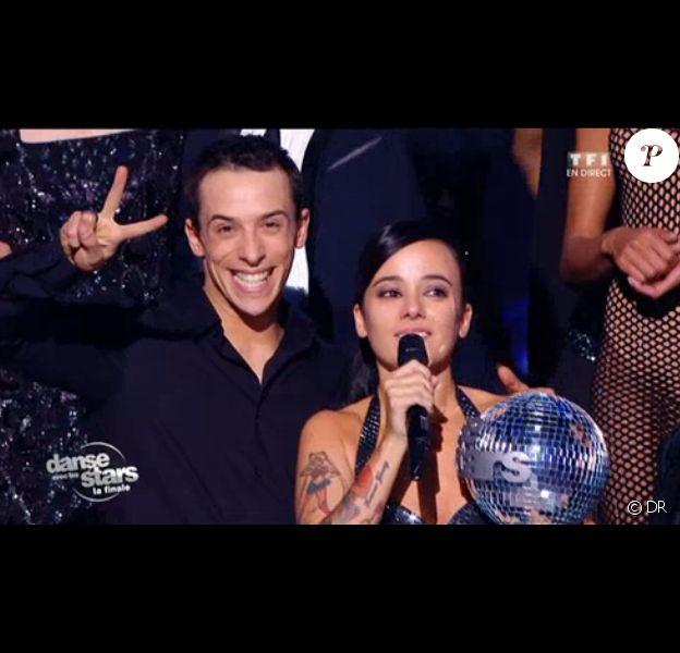 Alizée, victorieuse dans Danse avec les stars 4 sur TF1.