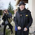 Pascal Obispo inaugure une salle de spectacle à son nom à La Lande-de-Fronsac, en Aquitaine, le 24 novembre 2013.