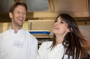 Marion Jollès et Romain Grosjean : Jeunes parents Toqués avec des stars du sport